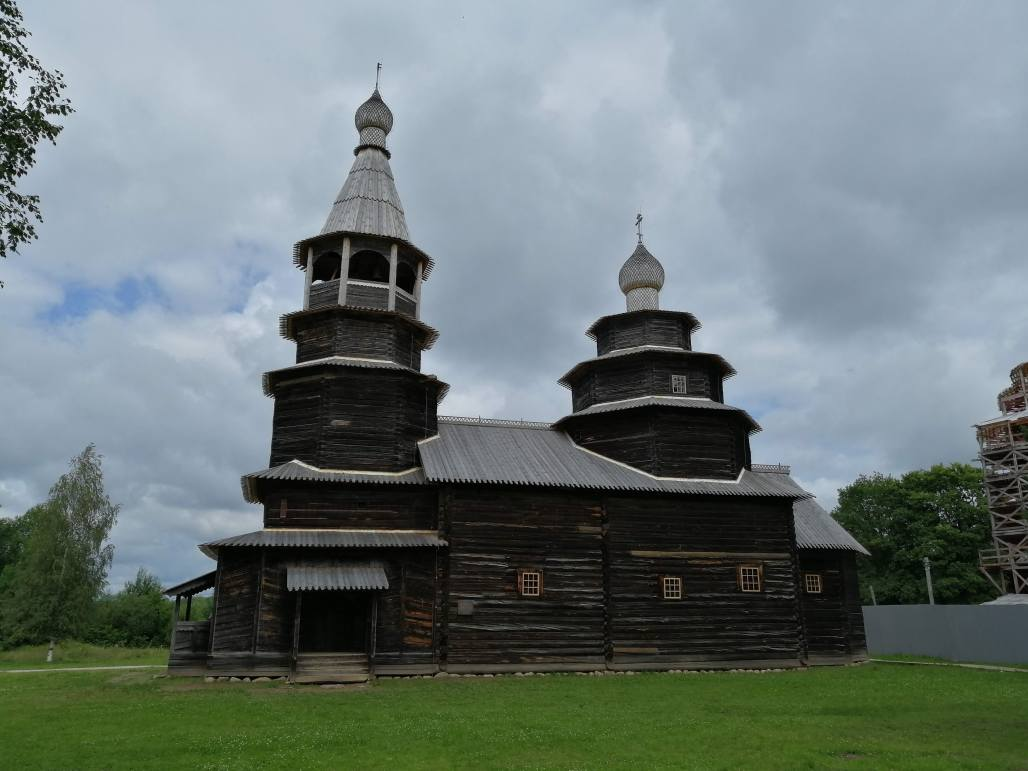 Church at Wooden Architecture Museum - Novgorod Russia's early history