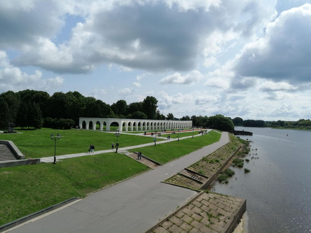 Riverfront - Novgorod Russia's early history