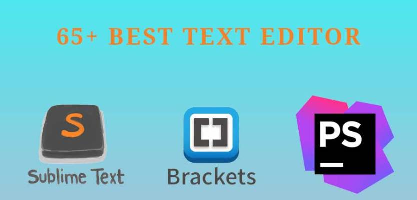 all text editor
