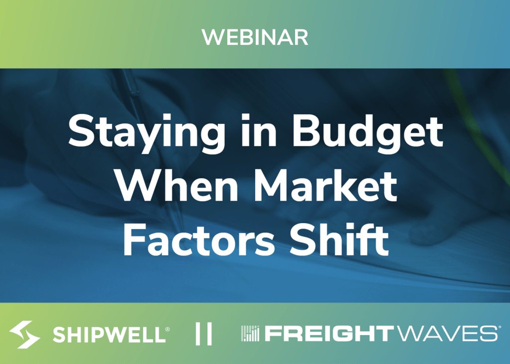 Staying in Budget When Market Factors Shift