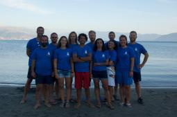 Albania Marine Science Expedition team. Photography: Steven Lopez (instagram: eslopez128).