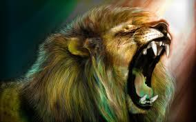 שנלחמים כמו אריה ומוקפים בלהקה- זה עובד