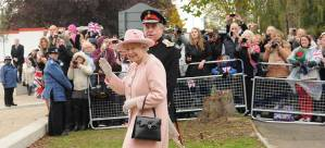 Shiralee photographed the Queen in Havering