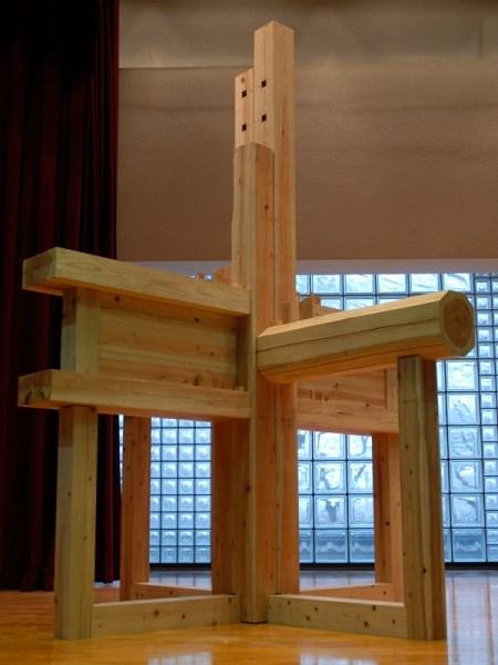 合せ柱の模型