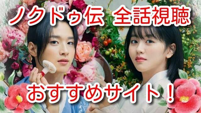 ノクドゥ伝 全話無料 動画 配信 フル 視聴 サイト