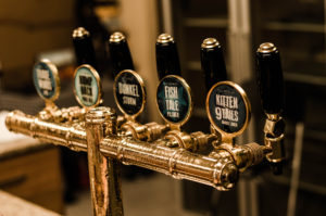 Exclusive boutique brewery beer tasting