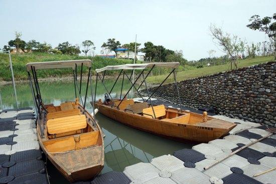 冬山河森林公園生態綠舟
