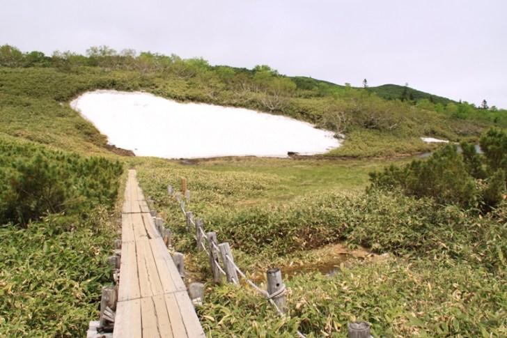 羅臼湖歩道二の沼