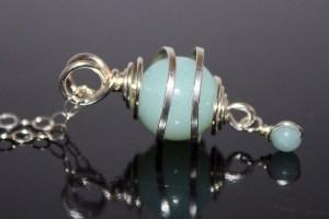 Amazonite 'Creativity' pendant