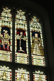 Stained Glass Trinity