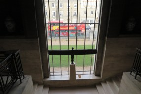 View out of Fitzwilliam
