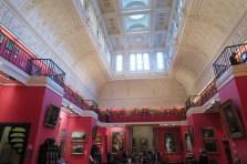 Red room in Fitzwilliam