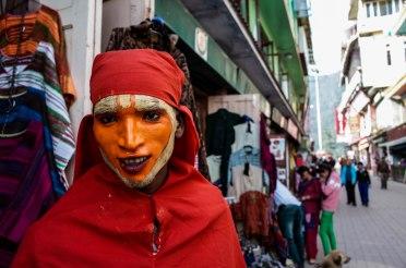 Hanuman. The monkey god. Mcleod Ganj, Dharamsala