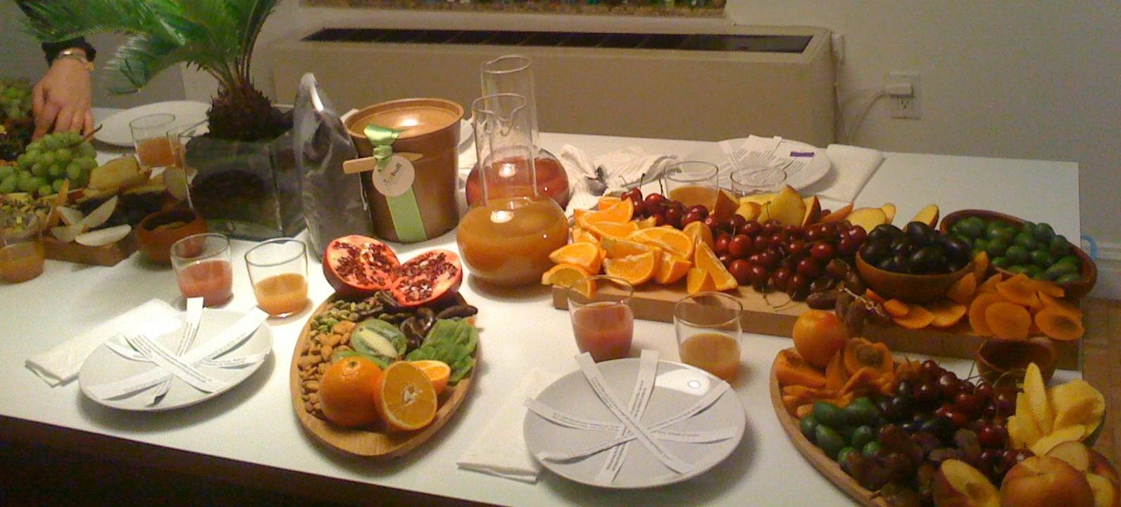 Image result for tu bshevat seder dinner table decorations images