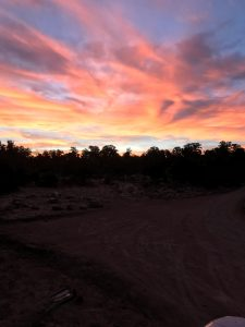 Sunrise picture at Different Dimension Acres