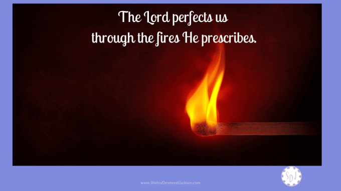 Refined by Fire - Shirley Desmond Jackson