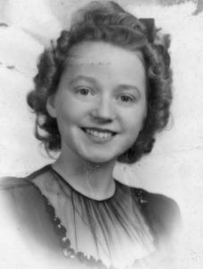 Barbara Ann Hess, 1945