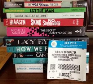 BEA stash of free books