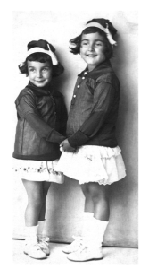 Joy-filled sisters Alice and Erica