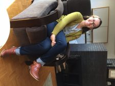 My youngest colleague Jessica Coblentz.