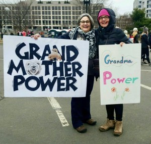 This grandmother was from Michigan. Photo by Carolyn Yoder.