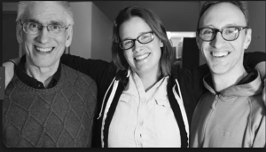 Carl McColman, Cassidy Hall, and Kevin Johnson. Hosts of the podcast Encountering Silence.
