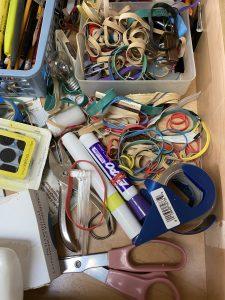 The junk drawer before quarantine.