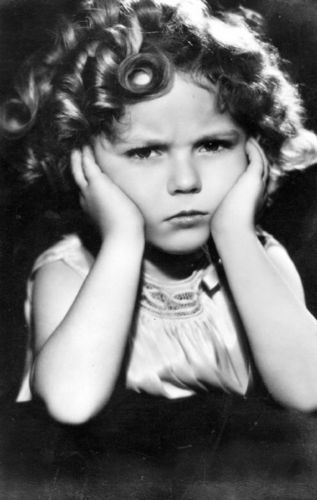 Shirley Temple (public domain photo)