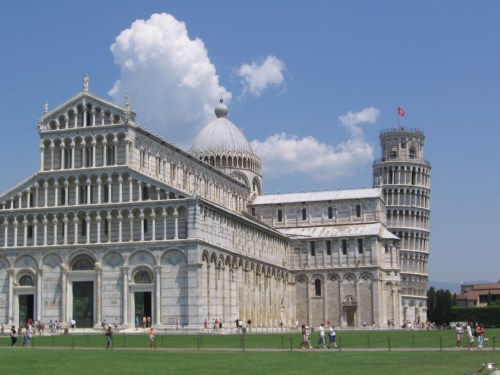 Cathedral and Tower of Pisa Copyright 2006 Sherri L. Sorbello