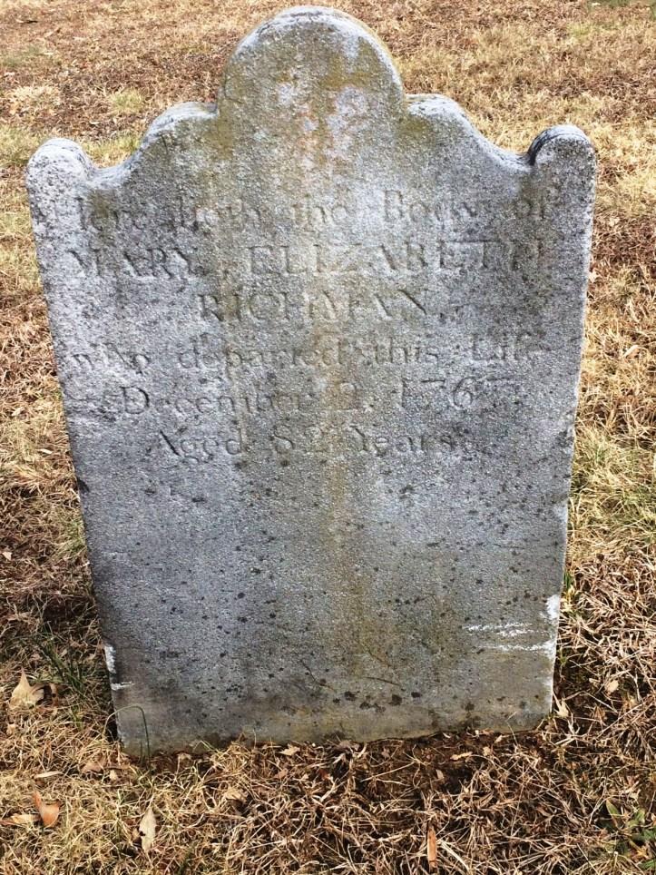 Mary Elizabeth Lucas Richman 12 1767