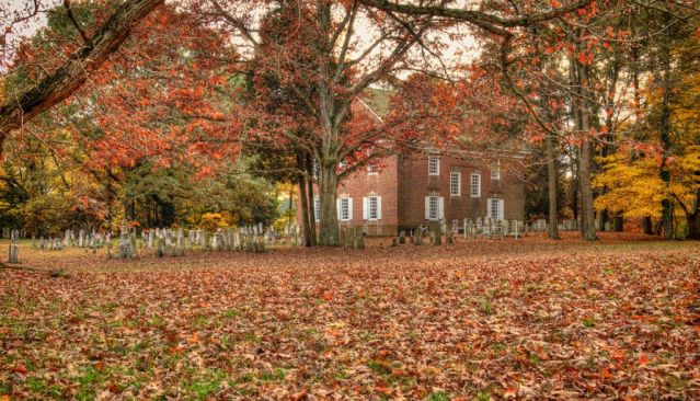 Old Pittsgrove Presbyterian Church. Photo by Tim Elmer