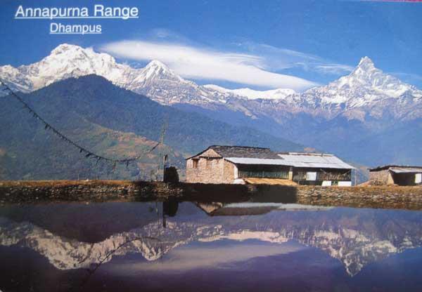 在尼泊尔买回来的postcard