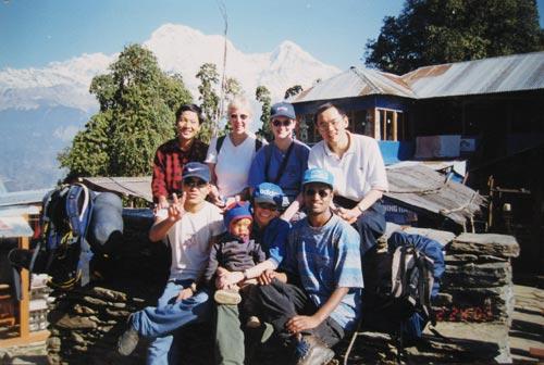 Annapurna Trek - 看那 '真正的山'
