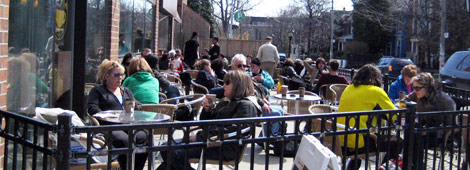 Annex Second Cup Patio