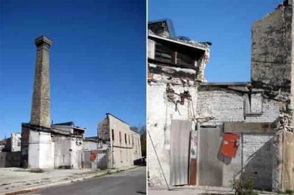 Elora old limestone building