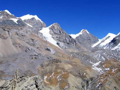 这张是Ed在2004年重回Annapurna 拍下的