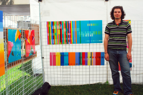 彩色到你眼花的绘画- Toronto Outdoor Art Festival (2009)