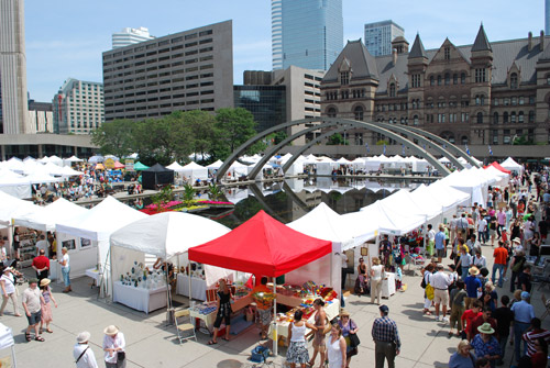 Toronto Outdoor Art Festival at Nathan Philip Square (2009)
