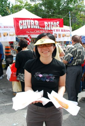 Churros at Salsa Festival 2009
