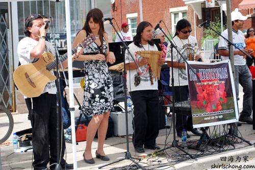 Salsa on St Clair Street Festival 2009