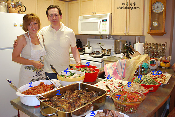 Chef Leeann & Sous Chef Dave