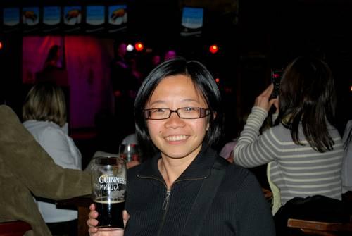 这是我的第二杯,一边喝,一边看River Dance ! :)