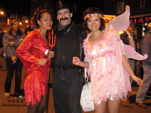 Heavan and Hell, Halloween Street Party, Toronto