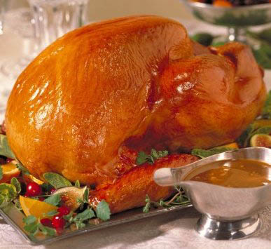 火鸡感恩晚餐