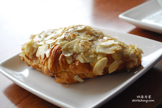 Almond Croissant at Fous Desserts, Montreal, Canada