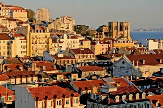 夕阳斜照里斯本 (Lisbon,Portugal)