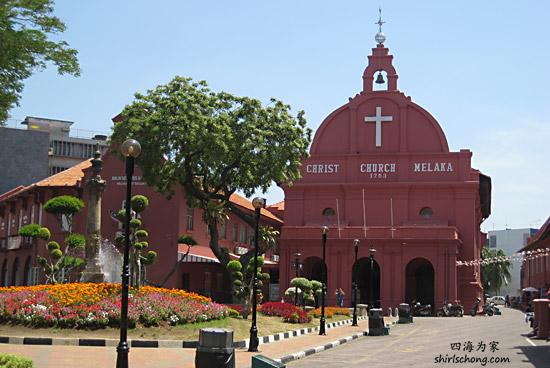马六甲内的葡萄牙式建筑 (Malacca, Malaysia)