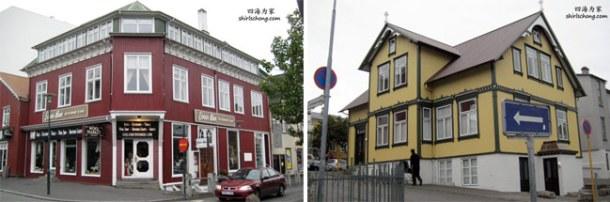 那里的房子好像很五颜六色 (冰岛首都雷克雅未克 Reykjavik)