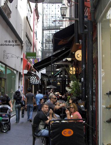 Cafes in Melbourne, Australia