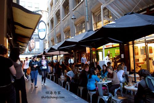 Melbourne cafe culture